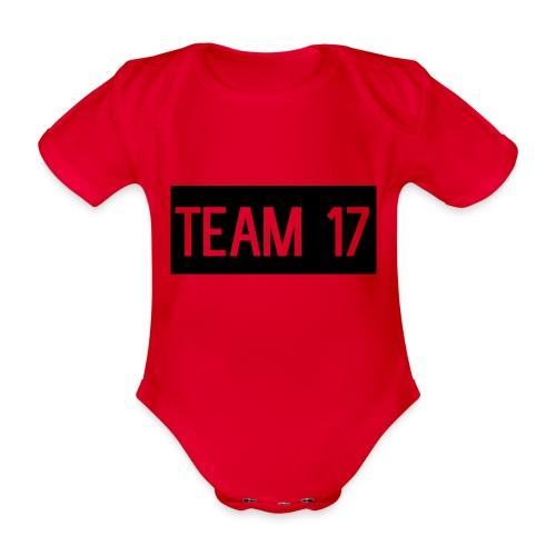 Team17 - Organic Short-sleeved Baby Bodysuit