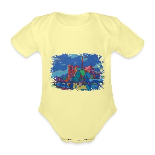 Paris - Baby Bio-Kurzarm-Body