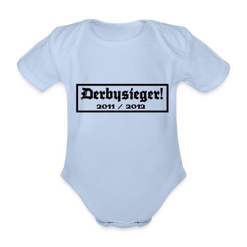 Derbysieger 2012 - Baby Bio-Kurzarm-Body