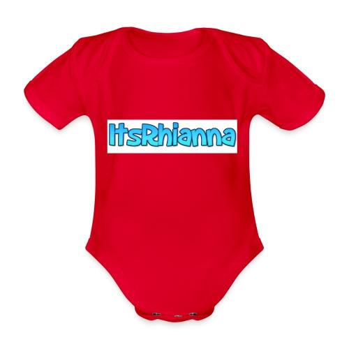 Merch - Organic Short-sleeved Baby Bodysuit