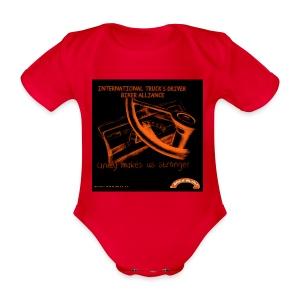 Unity - Body bébé bio manches courtes