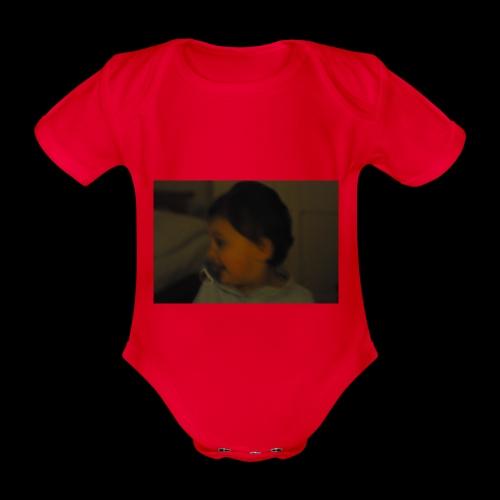 Boby store - Organic Short-sleeved Baby Bodysuit