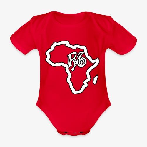 afrika pictogram - Baby bio-rompertje met korte mouwen