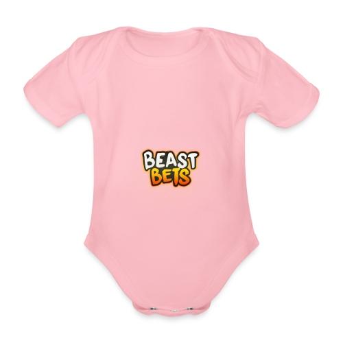 BeastBets - Kortærmet babybody, økologisk bomuld