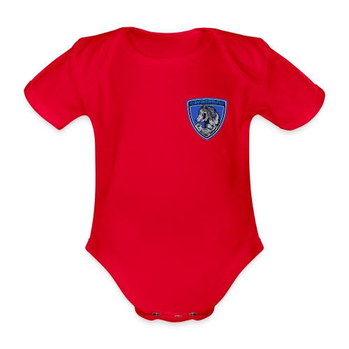 SweaG - Ekologisk kortärmad babybody
