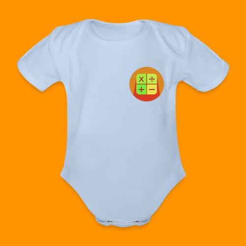 Matemáticas Sin Más - Body orgánico de manga corta para bebé