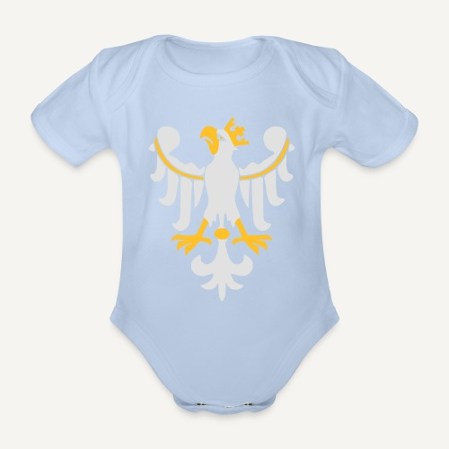 Orzeł Piastowski - Ekologiczne body niemowlęce z krótkim rękawem