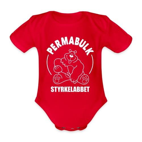 Permabulk - Ekologisk kortärmad babybody