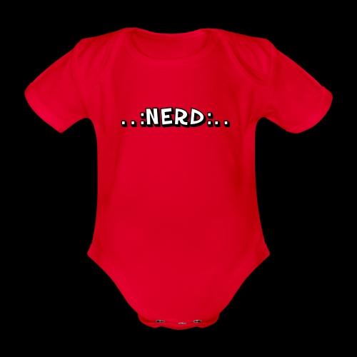 Nerd - Baby Bio-Kurzarm-Body