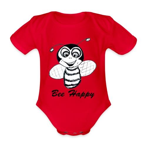 beeHappy - Body Bébé bio manches courtes