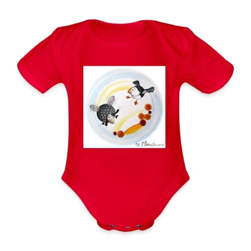 Le Ptit mouton d'Ouessant - Body Bébé bio manches courtes