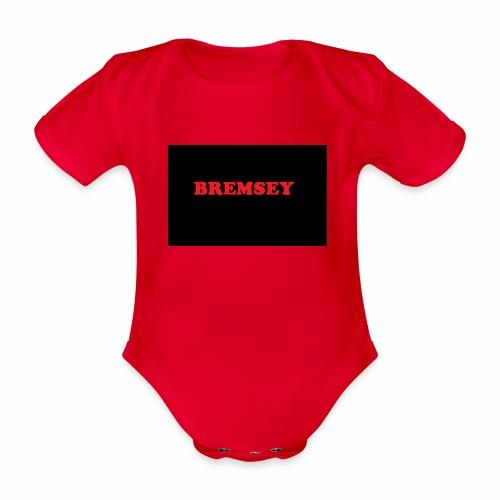 bremsey - Ekologisk kortärmad babybody