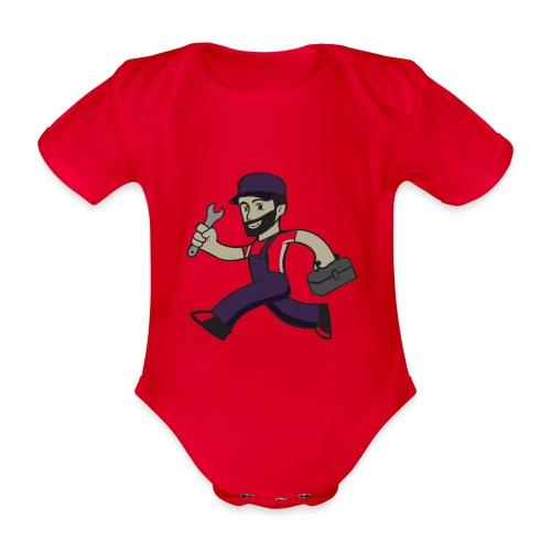 Buck Solutions - Baby bio-rompertje met korte mouwen