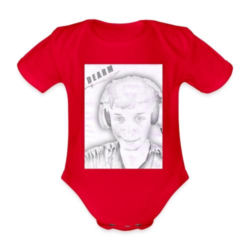 WIEK jpg - Organic Short-sleeved Baby Bodysuit