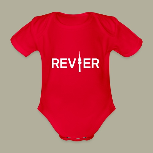 Dortmunder Revier - Baby Bio-Kurzarm-Body