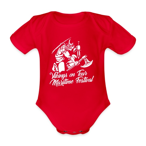 Viking Maritime - Organic Short-sleeved Baby Bodysuit
