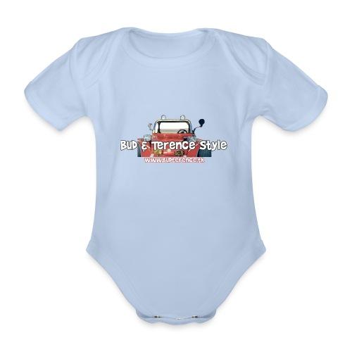 Bud & Terence Style - Body ecologico per neonato a manica corta