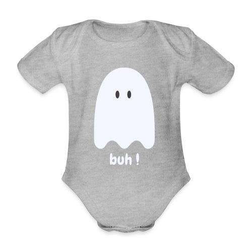 Buh ! - Kortærmet babybody, økologisk bomuld