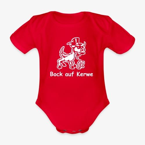 Bock auf Kerwe - Baby Bio-Kurzarm-Body