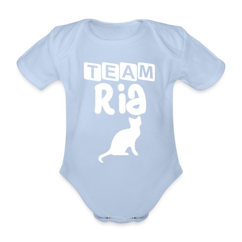 Team Ria - Organic Short-sleeved Baby Bodysuit