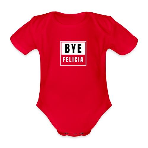 BYE FELICIA - Ekologiczne body niemowlęce z krótkim rękawem