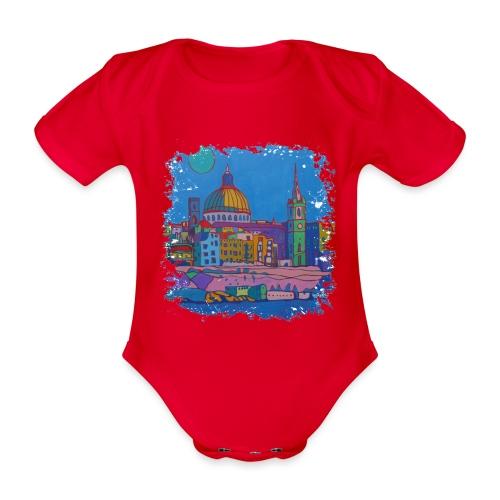 Malta - Baby Bio-Kurzarm-Body