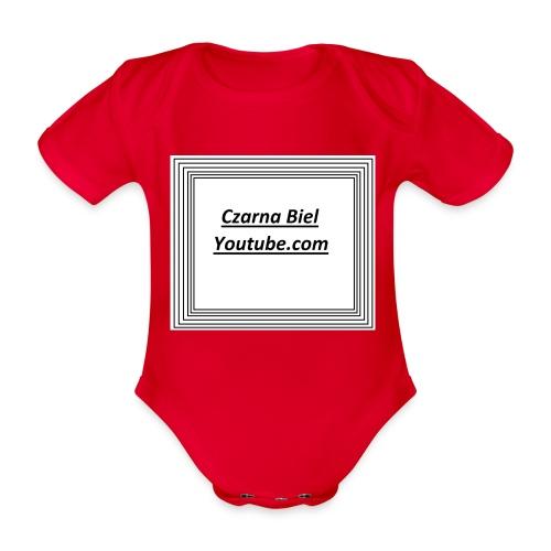 yt_cb - Ekologiczne body niemowlęce z krótkim rękawem