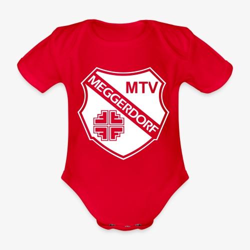 MTV Logo groß - Baby Bio-Kurzarm-Body