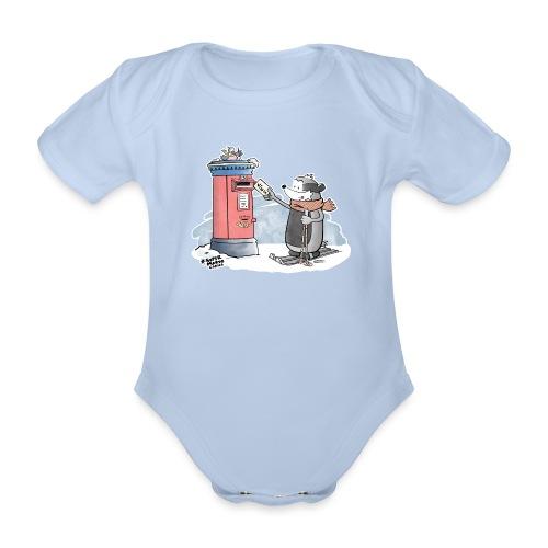Royal Mail - Økologisk kortermet baby-body