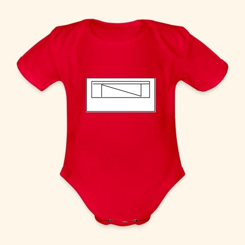 TntMiners Design logga - Ekologisk kortärmad babybody