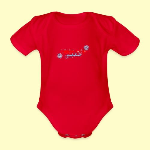 Lindy Hop Wonderland Tanz T-shirt - Baby Bio-Kurzarm-Body