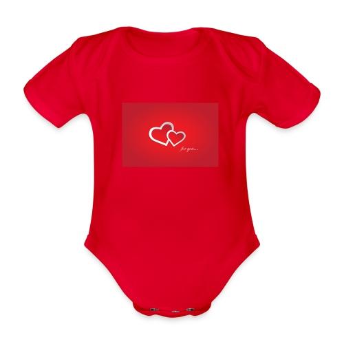 for you - Baby Bio-Kurzarm-Body