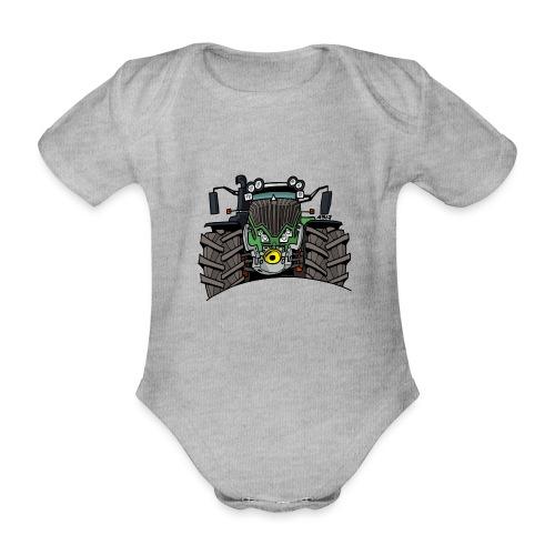 0521 F - Baby bio-rompertje met korte mouwen
