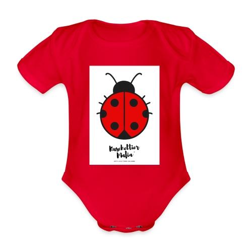 Ladybird - Kuscheltier Mafia - Baby Bio-Kurzarm-Body