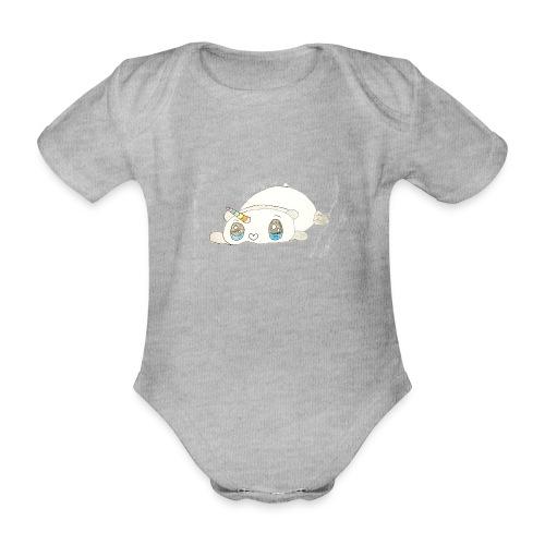 Kids for Kids: sleepingunicorn - Baby Bio-Kurzarm-Body