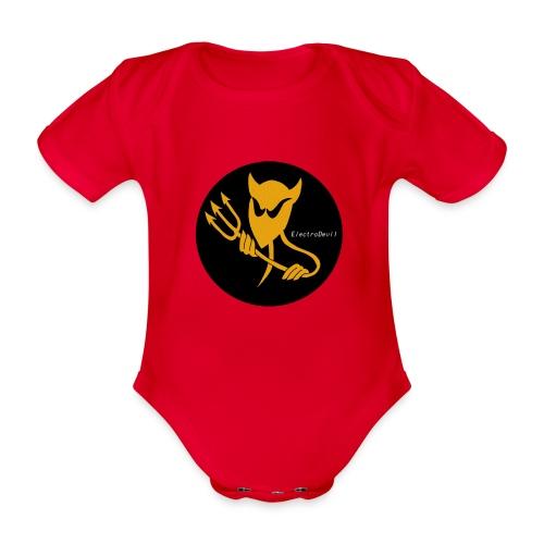 ElectroDevil T Shirt - Organic Short-sleeved Baby Bodysuit