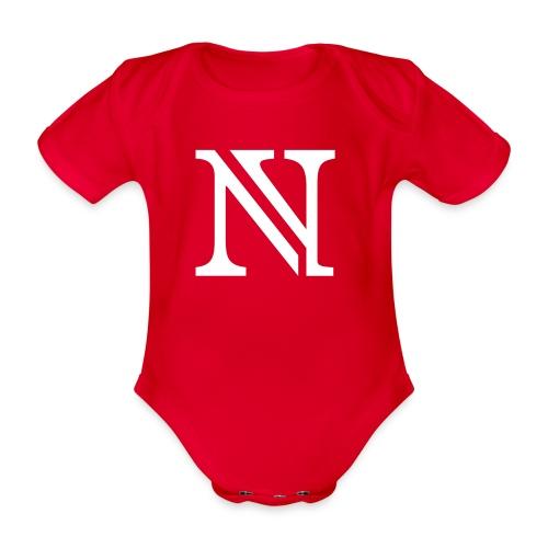 N allein - Baby Bio-Kurzarm-Body