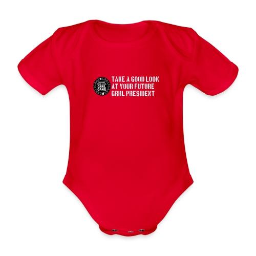 President - Organic Short-sleeved Baby Bodysuit
