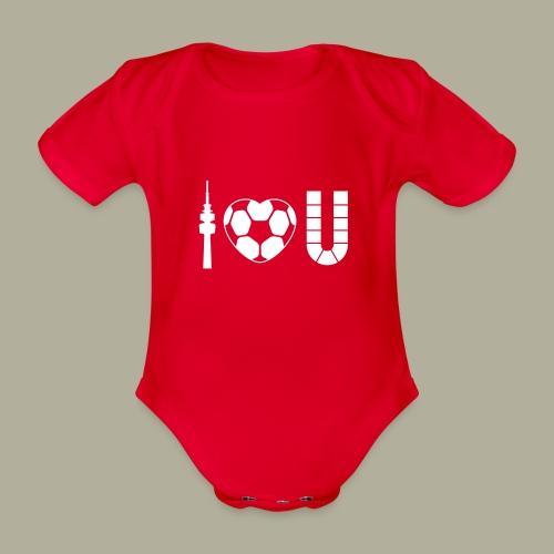 Dortmund I Love U - Baby Bio-Kurzarm-Body