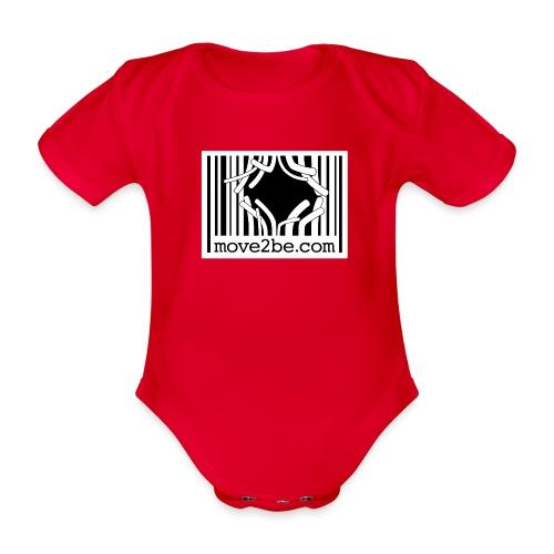 Barcode move2be Outbreak - Baby Bio-Kurzarm-Body