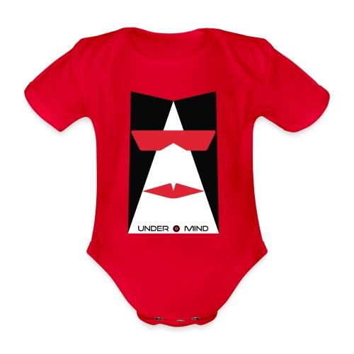 under mind adesivi 10x15 bozza - Body ecologico per neonato a manica corta