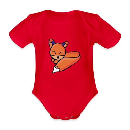 Edo le renard - Body Bébé bio manches courtes