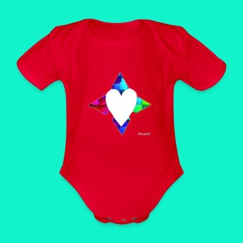 4lof - Baby bio-rompertje met korte mouwen