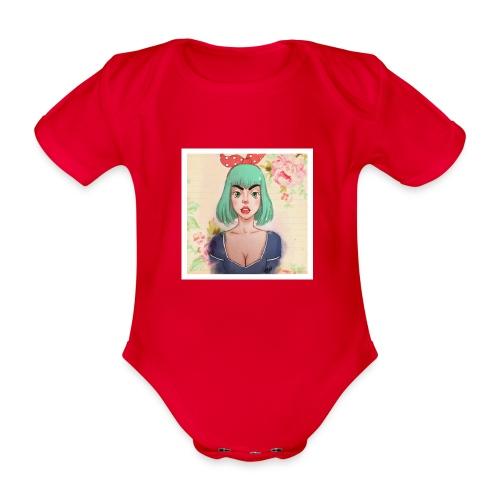 elena of spain - Organic Short-sleeved Baby Bodysuit
