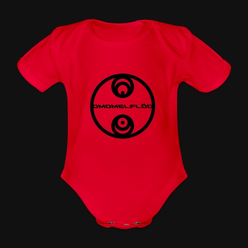 Omomelflöd - Baby Bio-Kurzarm-Body