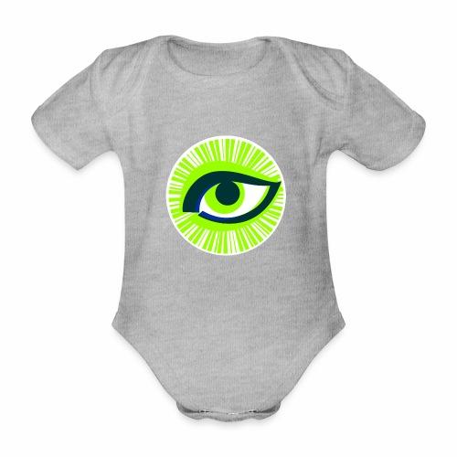 Auge - Baby Bio-Kurzarm-Body