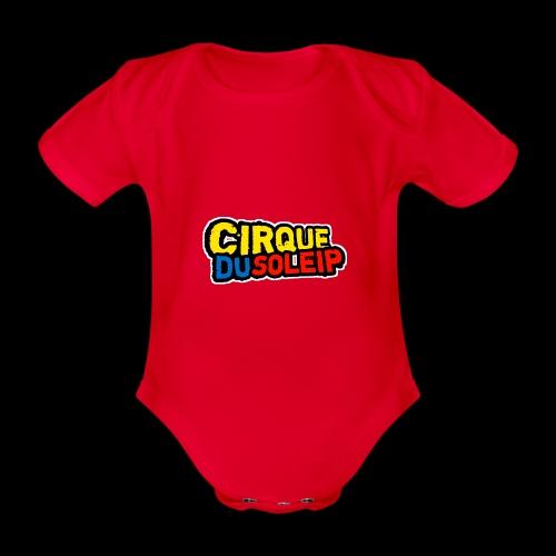 Cirque Du Soleip Letters - Baby bio-rompertje met korte mouwen