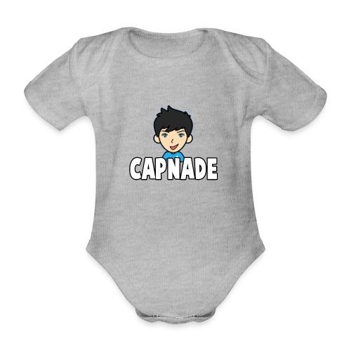 Basic Capnade's Products - Organic Short-sleeved Baby Bodysuit
