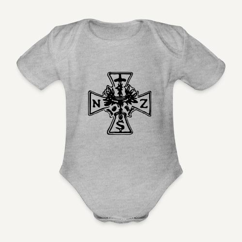 nsz1 - Ekologiczne body niemowlęce z krótkim rękawem