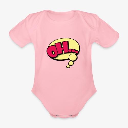 Serie Animados - Body orgánico de maga corta para bebé